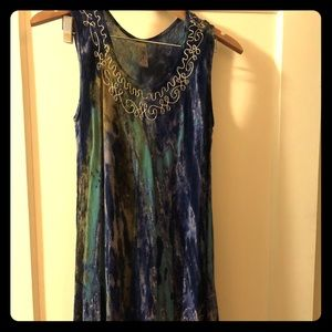 Dresses & Skirts - Handmade Embroidered Tie Dye Dress